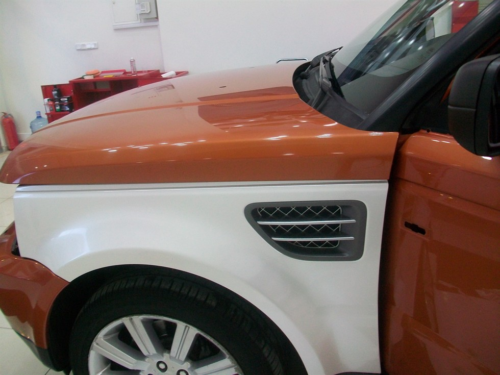 Range Rover Folyo Kaplama