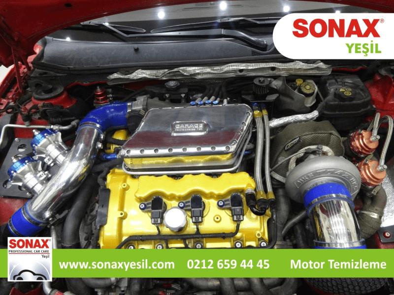Sonax Motor Temizleme