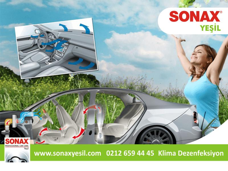 Sonax Klima Dezenfeksiyonu